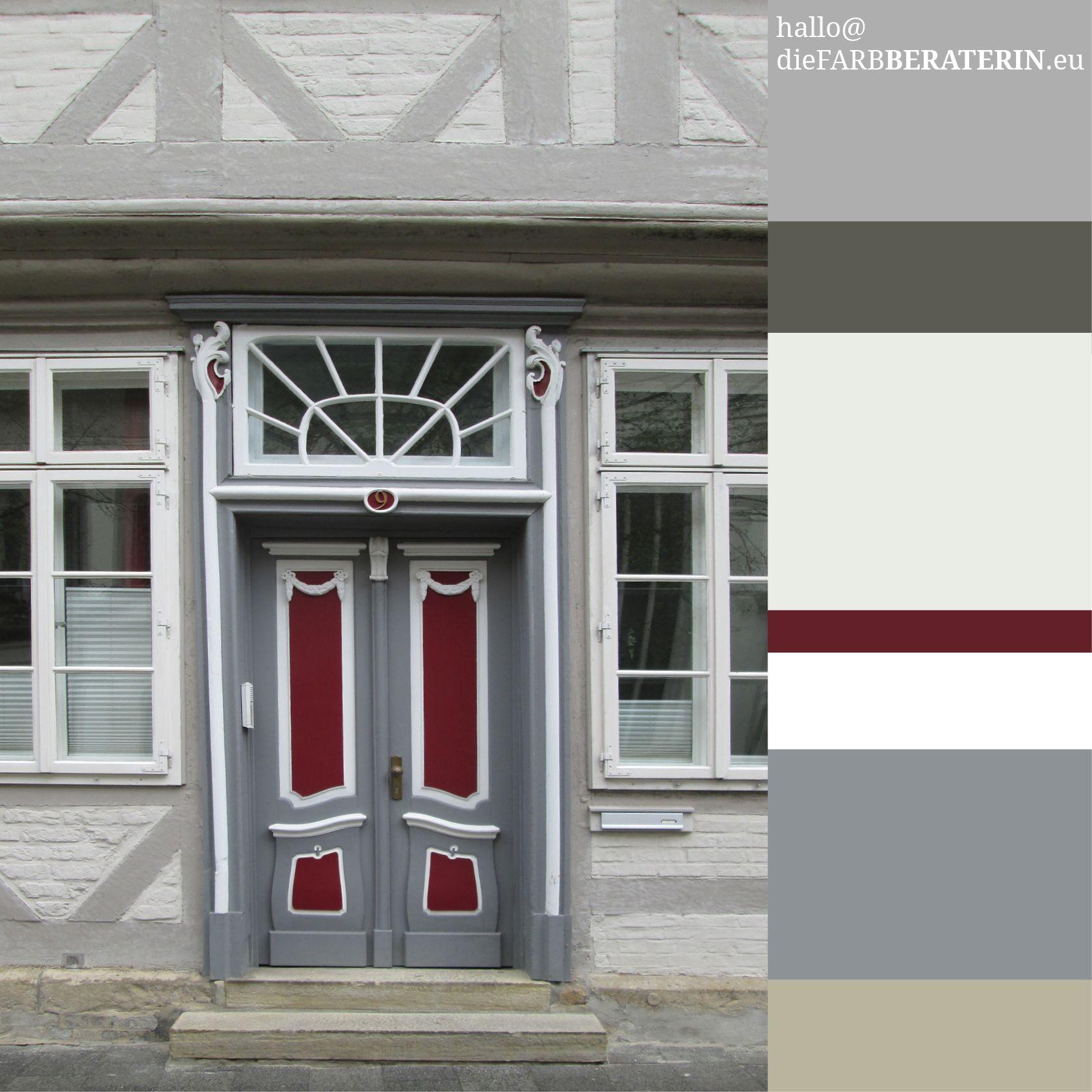Hervorragend farbinspiration #haustür #fachwerkhaus #celle #eingang VP94