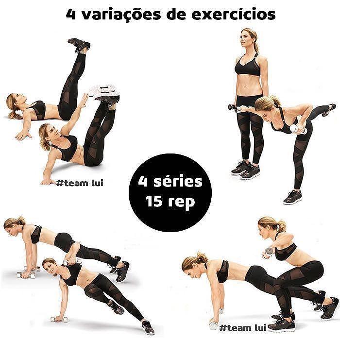 Exercícios para colocar na sua rotina e fazer em casa na academia ou em qualquer outro lugar   #teamlui #zizaroficial #fitness #fitzizar #gym by marciolui