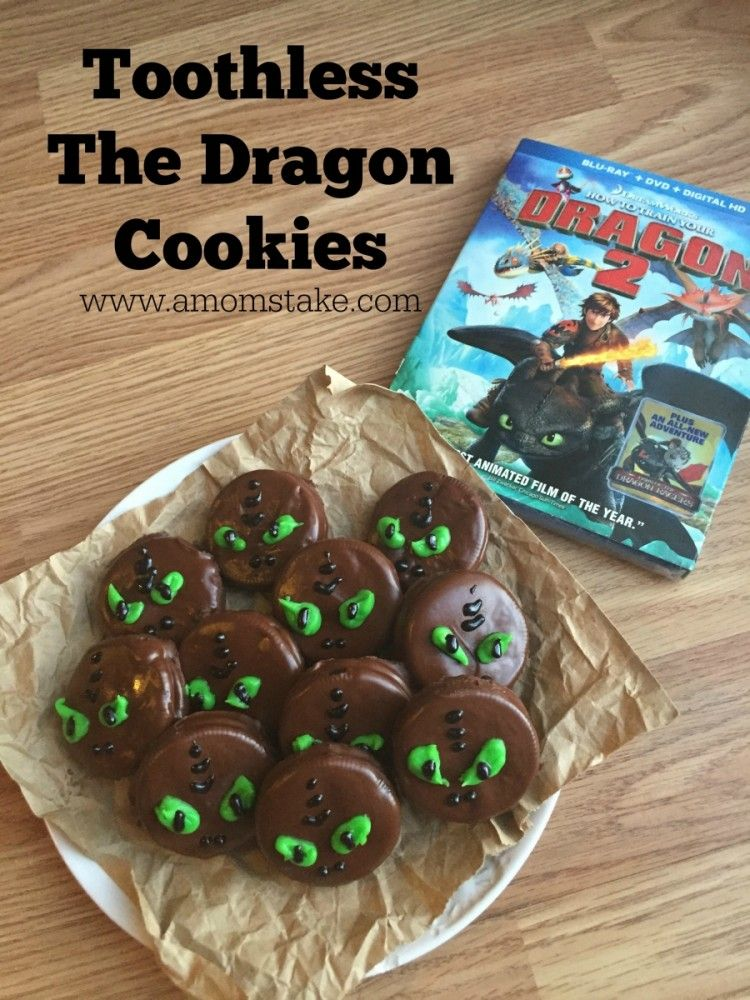 Toothless The Dragon Cookies Super Easy And Dragons