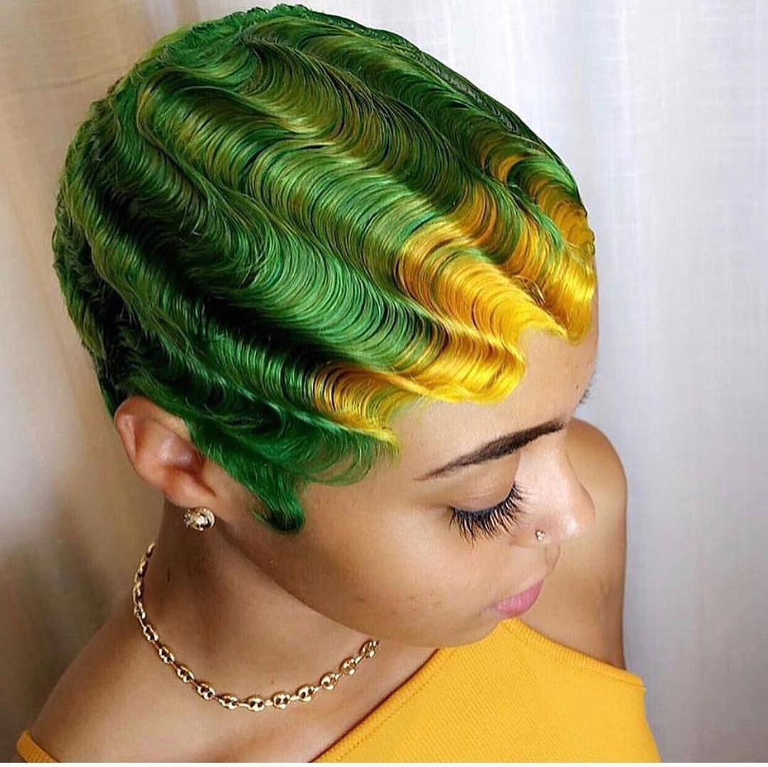 Inger Waves Coiffure Teinture Cheveux Cheveux