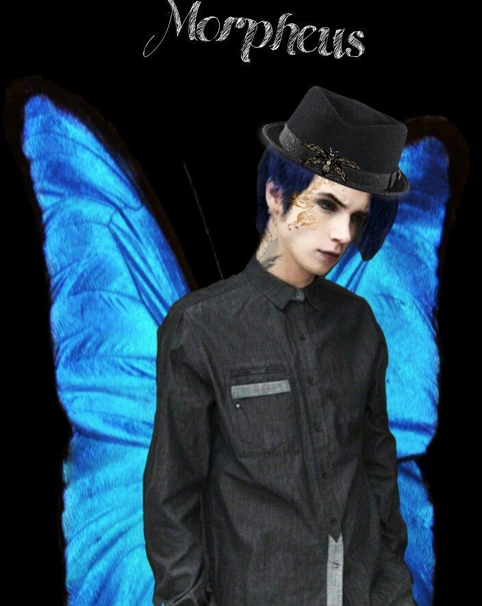 morpheus of splintered book andy biersack morpheus pinterest