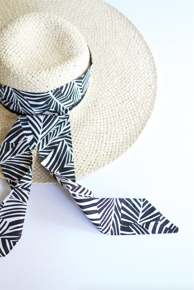 Tie it around your hat, or on the handles of your tote bag, this multi-purpose scarf by #CageCreations is an accessory we can't get enough of. Featured in OuiPlease parcel Vol.1.4. #EscapeToTheFrenchRiviera. #FranceAtYourDoorstep