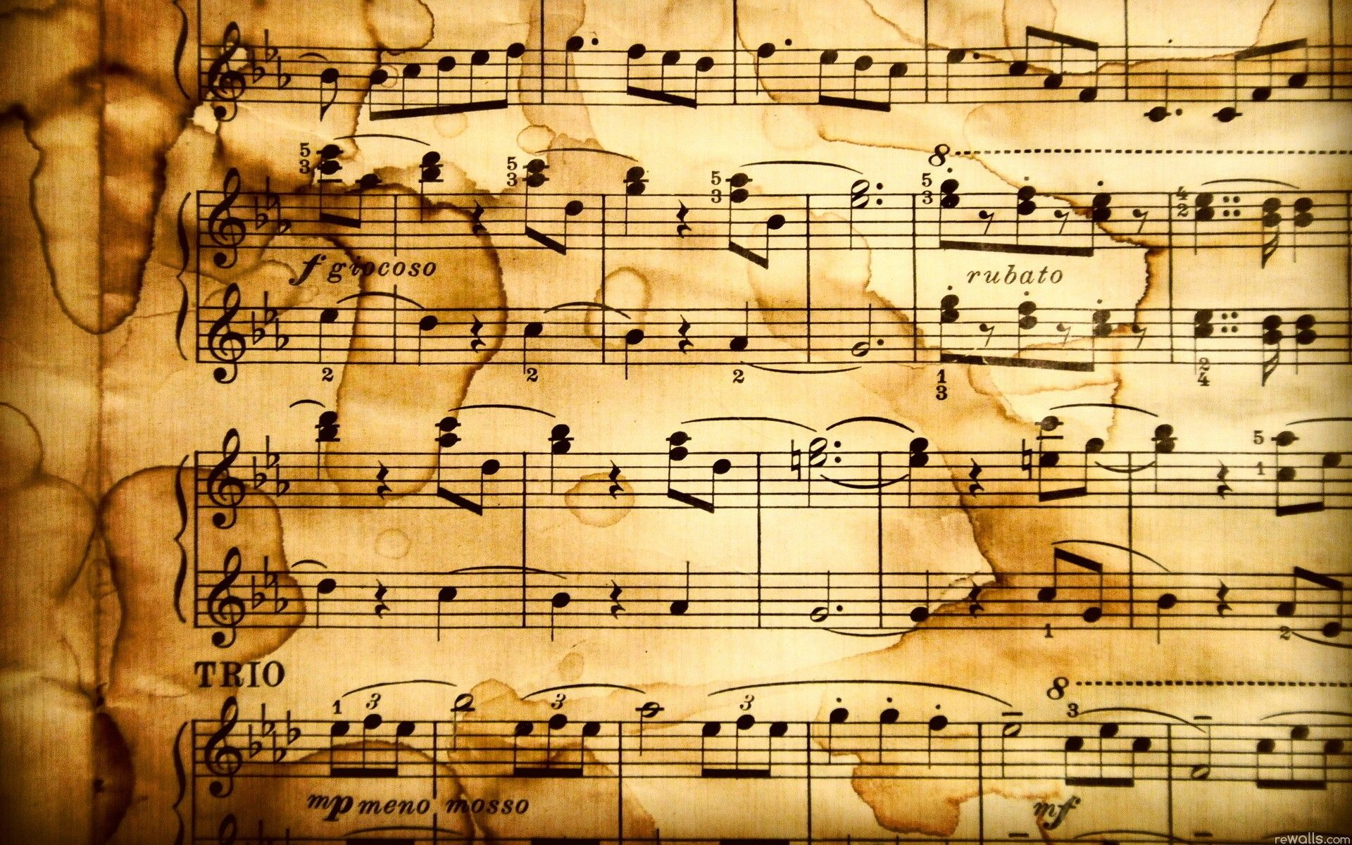 Music Notes 232514 Abstract Music Wallpapers Music Notes Background Music Wallpaper Sheet Music