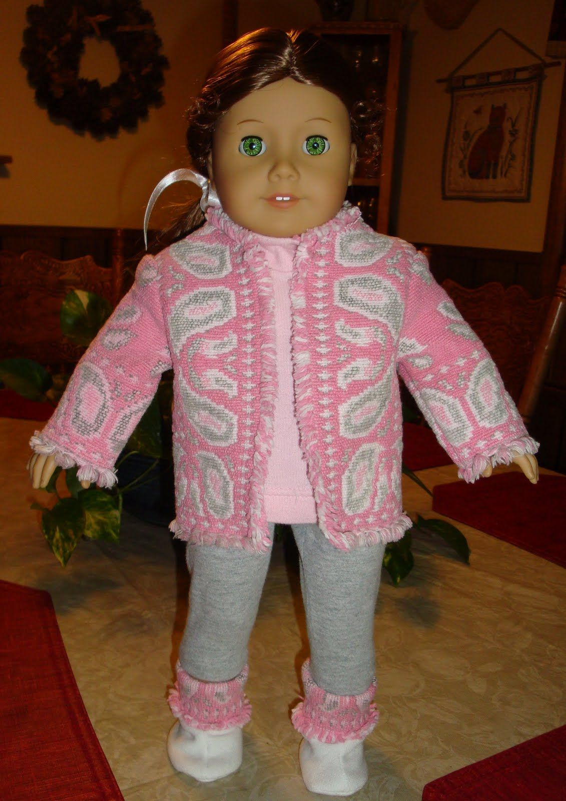 Granna's Designs: Ideas for Making Your Own 18-inch Doll Clothes from thrift store items!