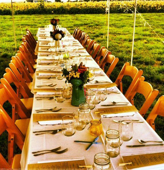 Autumn Farm To Table Menus   Our Fall Farm Dinner *French Themed   The  Chefu0027s