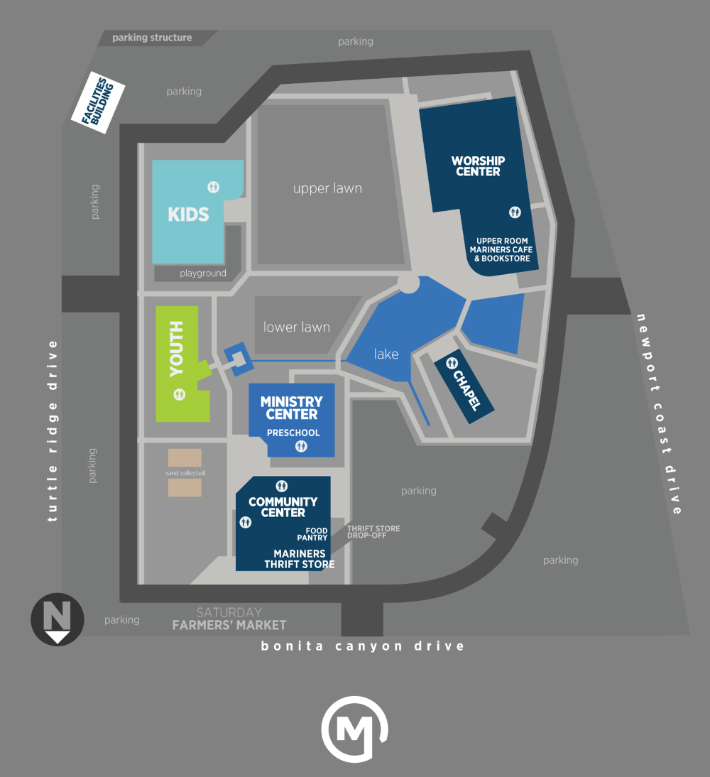 Campus Map Irvine Mariners Church In 2020 Campus Map Map Irvine