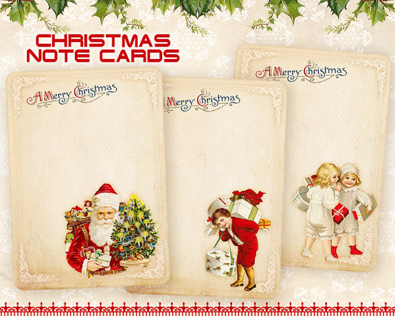 christmas note cards greeting cards printable download by frezeartchristmas note cards greeting cards printable download by frezeart, $3 10