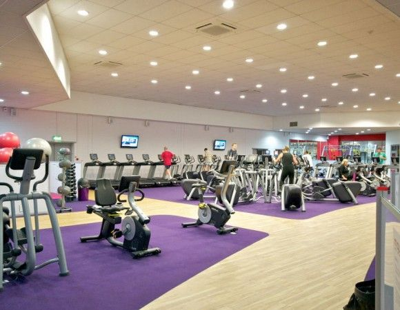 Gym Floor Spa Gimnasio