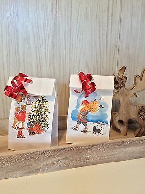 36 IKEA Vintermys Adventstüten Weihnachtstüten Papiertüten Geschenktüte Tüte Neu