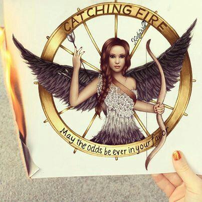 Kristina Webb, Hunger Games Art Katniss