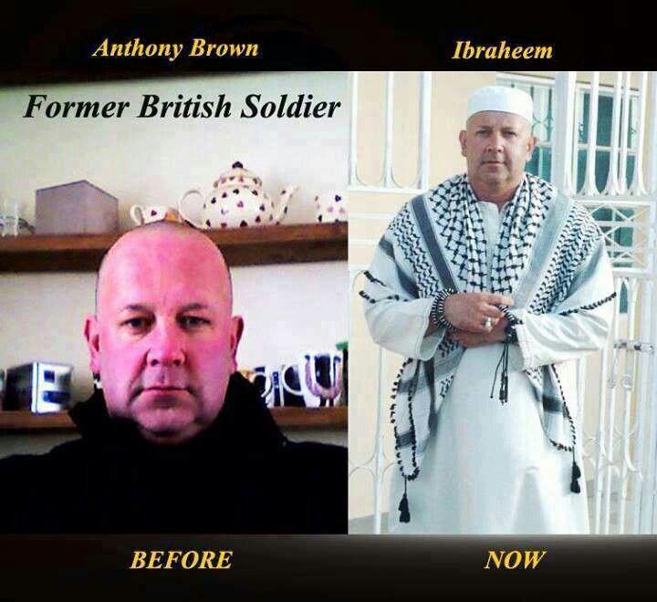 Muslim reverts | British soldier, Faith, Muslim converts