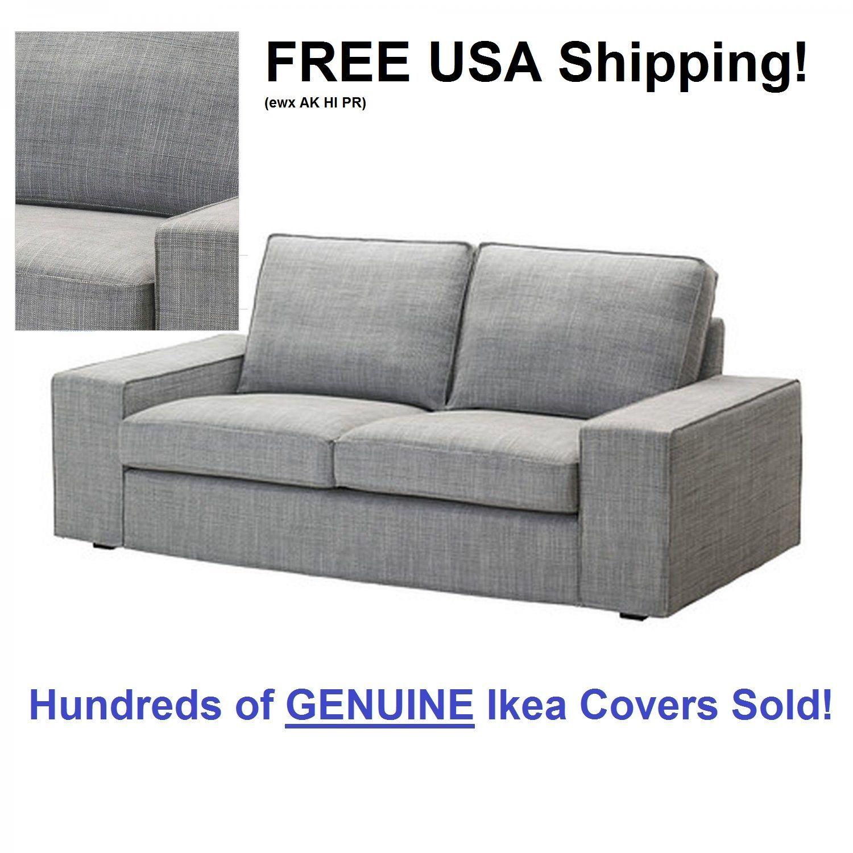 Slipcovers Ikea Kivik Loveseat 2 Seat Sofa Cover