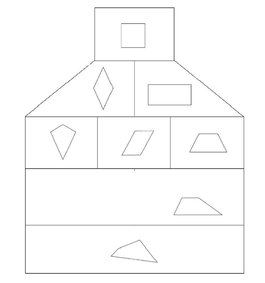 atfd haus der vierecke classroom maths pinterest mathe mathematik und unterricht ideen. Black Bedroom Furniture Sets. Home Design Ideas
