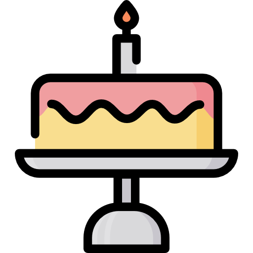 Birthday Cake Free Vector Icons Designed By Freepik Cake Icon Birthday Icon Vector Icon Design
