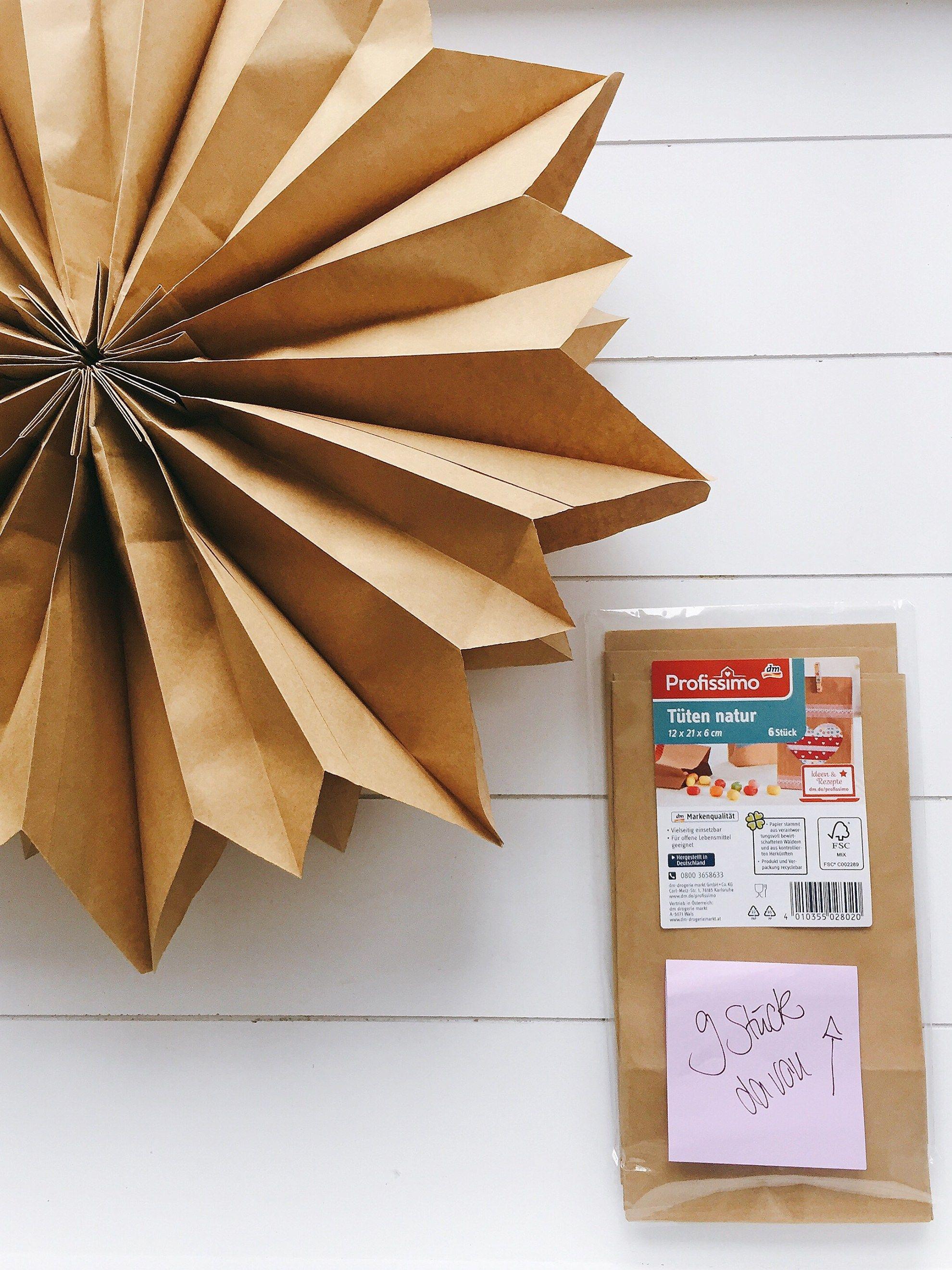sterne aus butterbrott ten kostenlose anleitung bastelvorlage advent raumdeko sterne. Black Bedroom Furniture Sets. Home Design Ideas