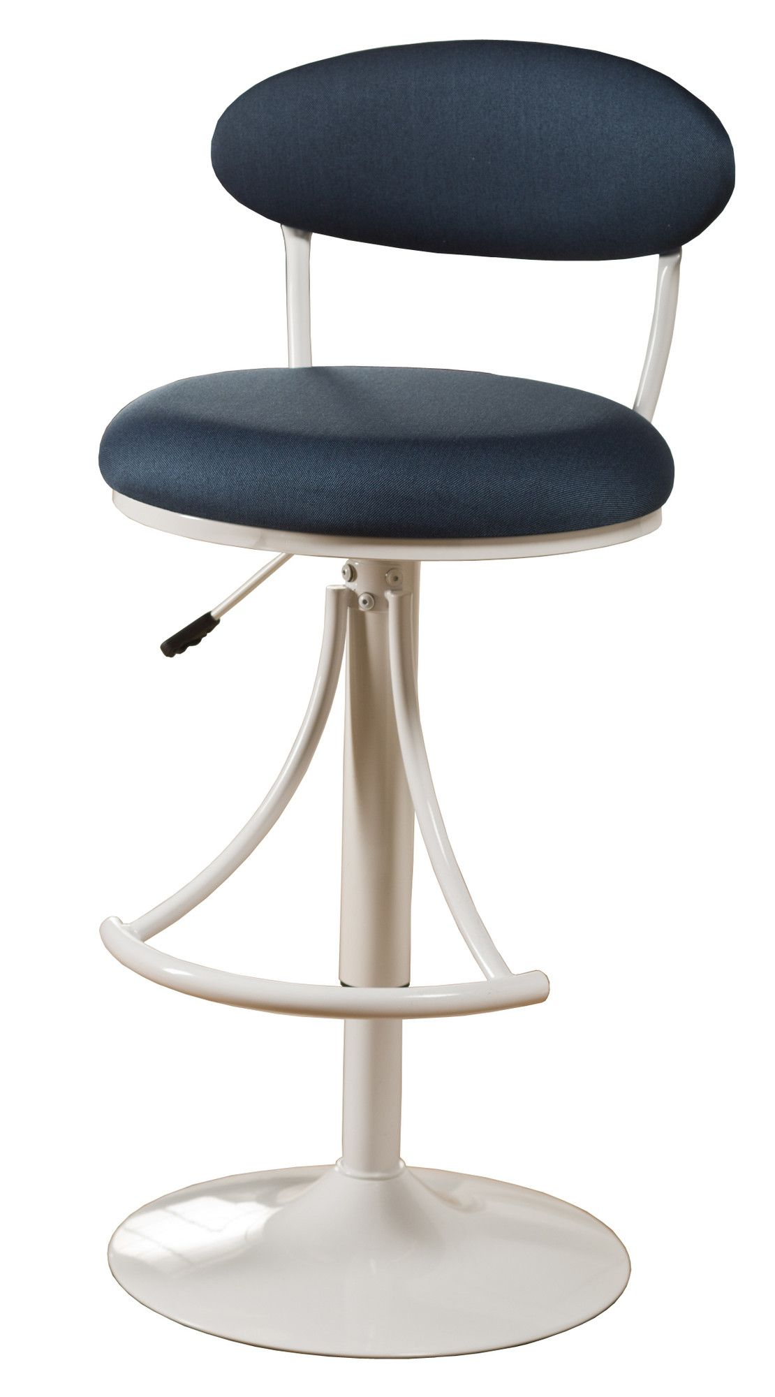 Remarkable 120 Hillsdale Venus Adjustable Swivel Barstool With Fabric Beatyapartments Chair Design Images Beatyapartmentscom