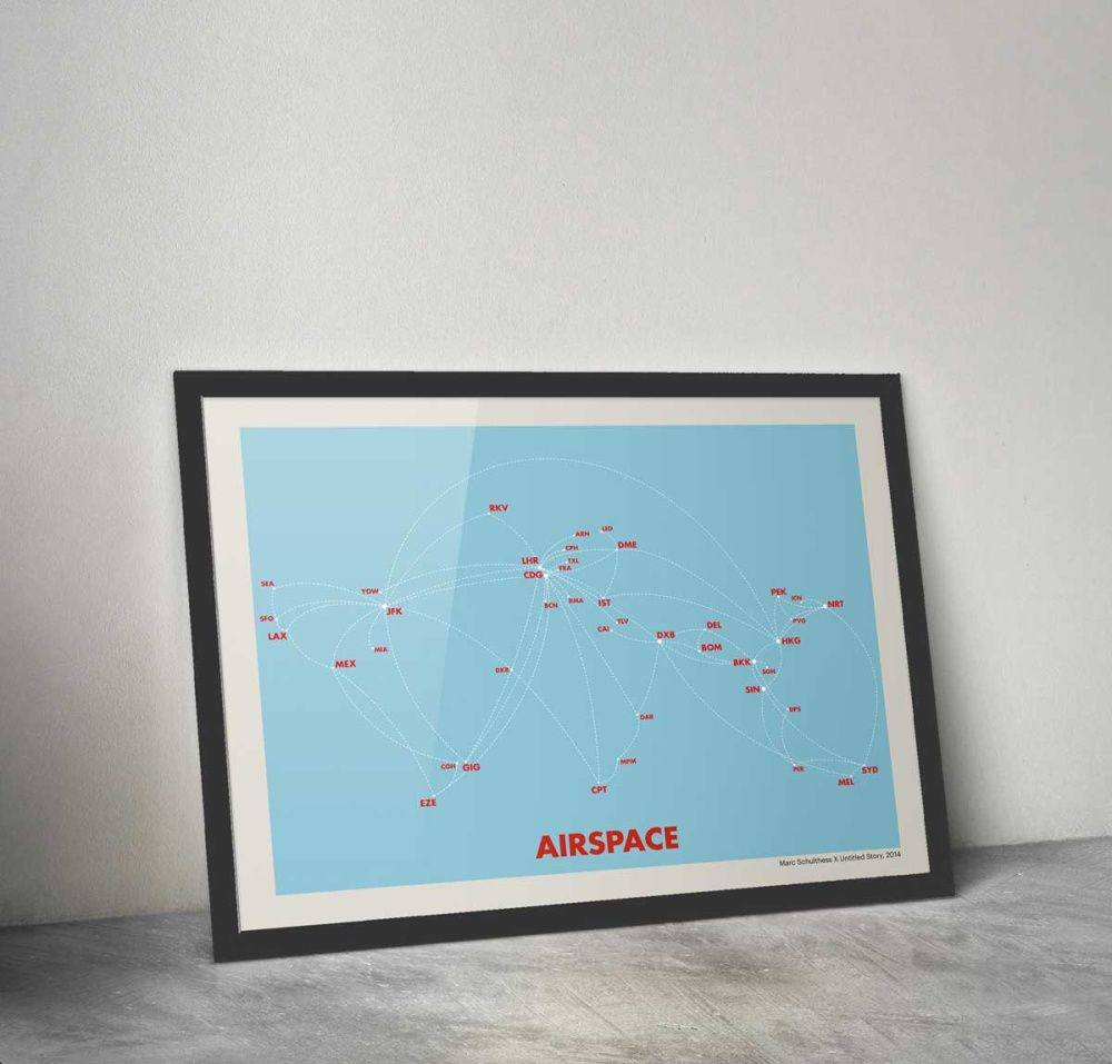 Airspace by Untitled Story Modern wall art canvas, Wall