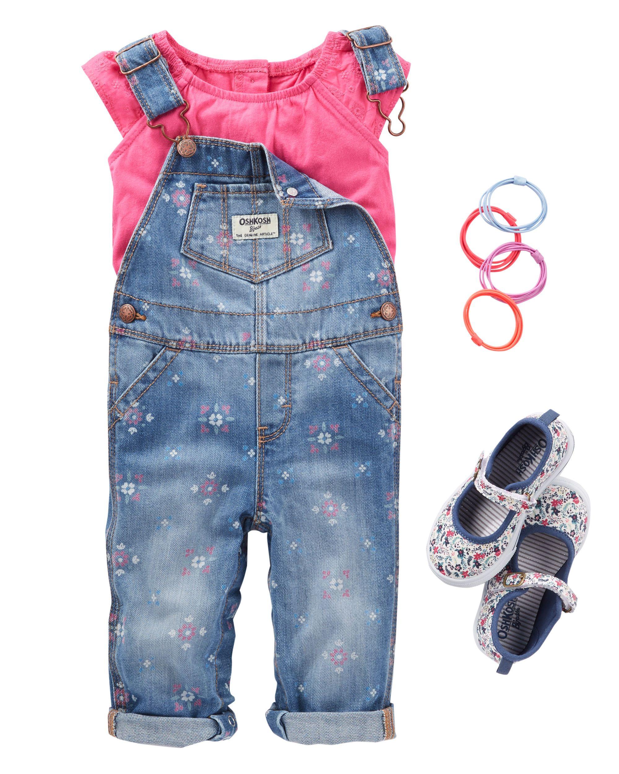 2874e0fe4 Baby Girl OKF17JUNBABY32 | OshKosh.com Coisas De Bebe Menina, Roupa De Bebe  Menina