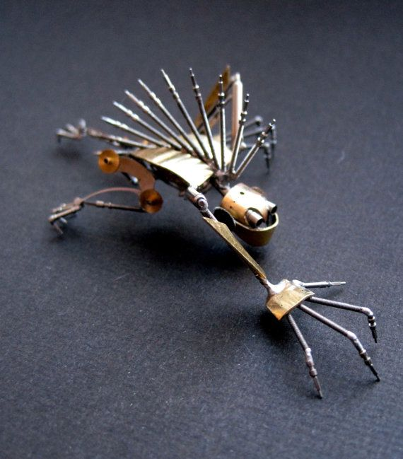 Mechanical Creature Slasher Recycled Watch by amechanicalmind