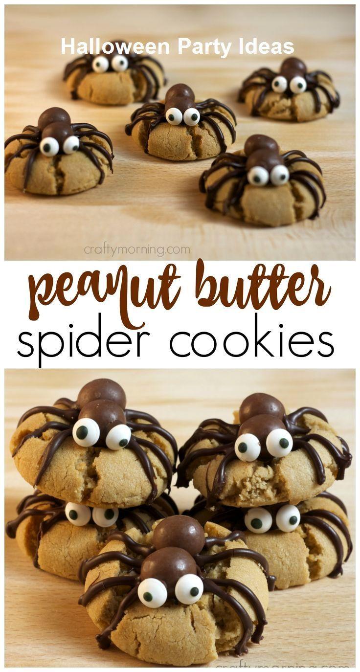 15 unglaubliche Halloween-Dessert-Ideen 1. Jack O Lantern Brownies -