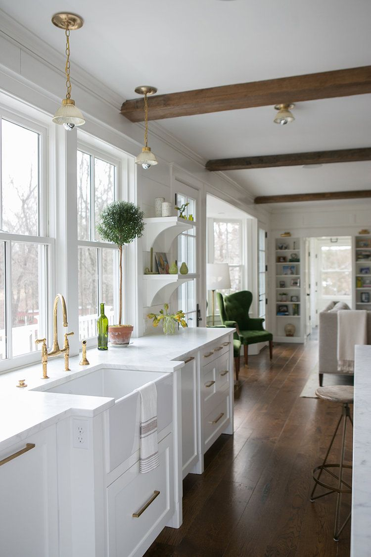 Friday Inspiration: Tiles, Beams, And Paneling!