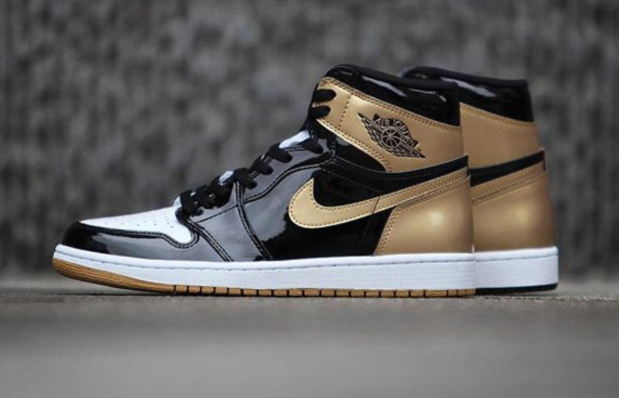 Release Reminder: Air Jordan 1 High OG Gold Top 3