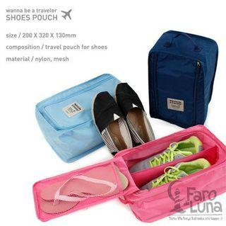 Bolsa impermeable para zapatos :) #travelkit