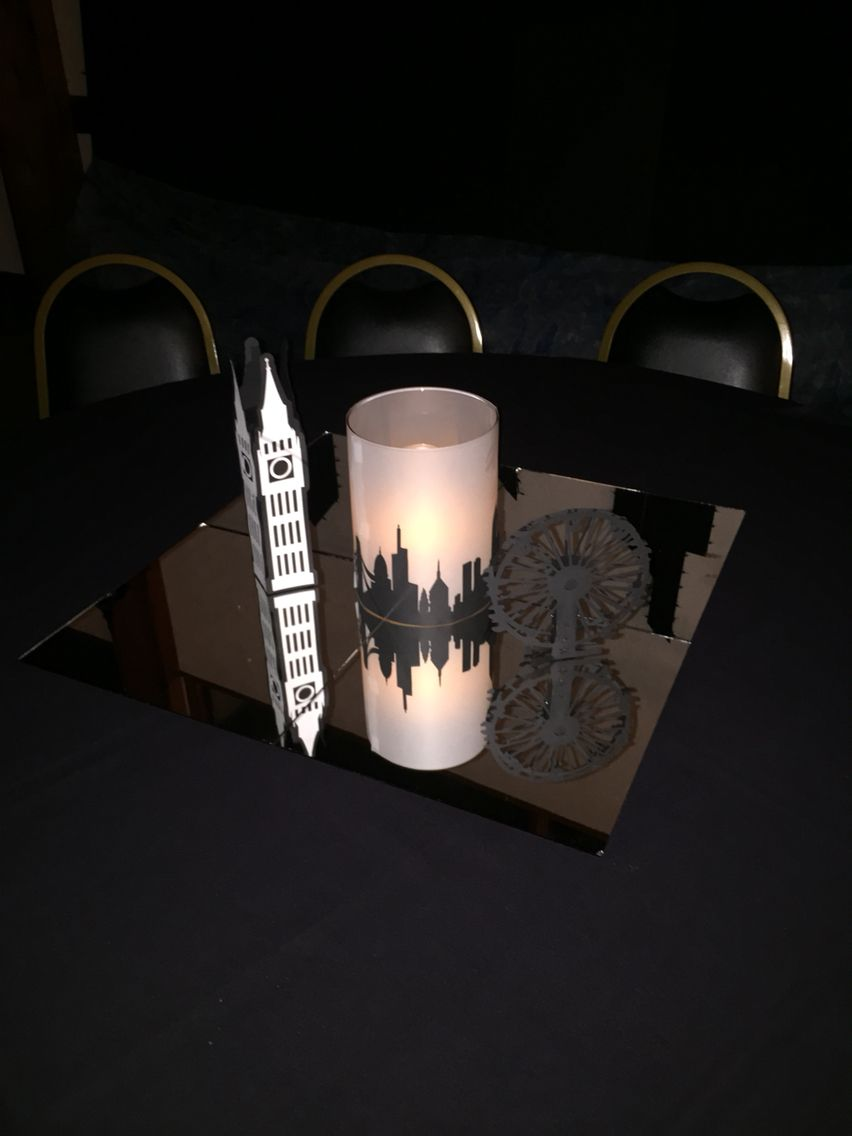 London Table Decorations For Neverland Peter Pan Prom