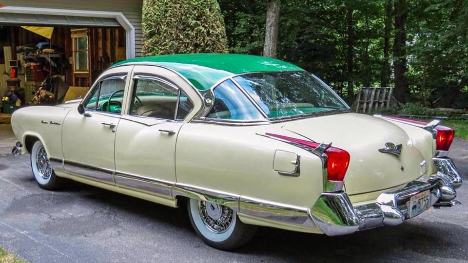 Last Year Of The Kaiser 1955 Classic Cars Cars Automobile