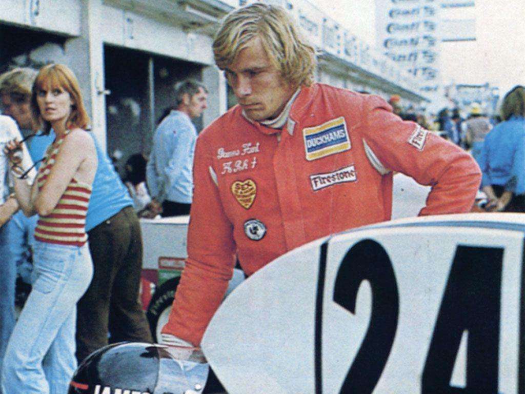 James Hunt's 1974 Hesketh 308 F1.