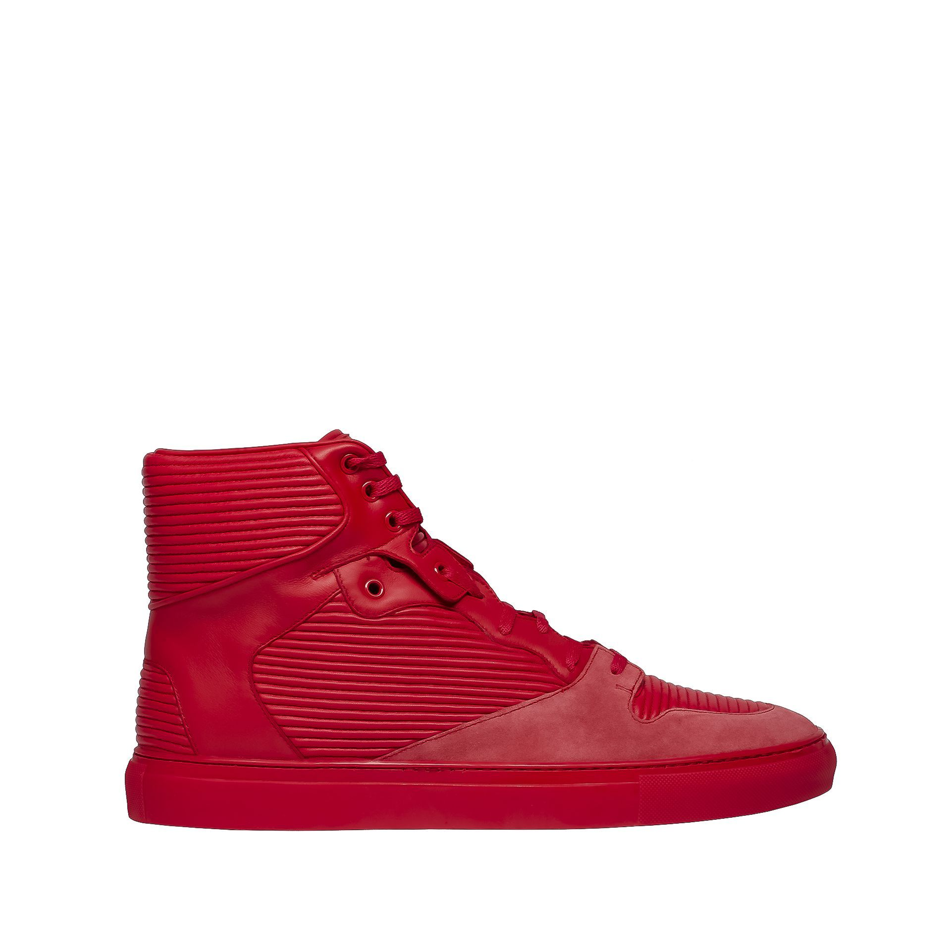 Running shoes for men, Red sneakers