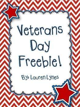 Veterans Day FREEBIE!