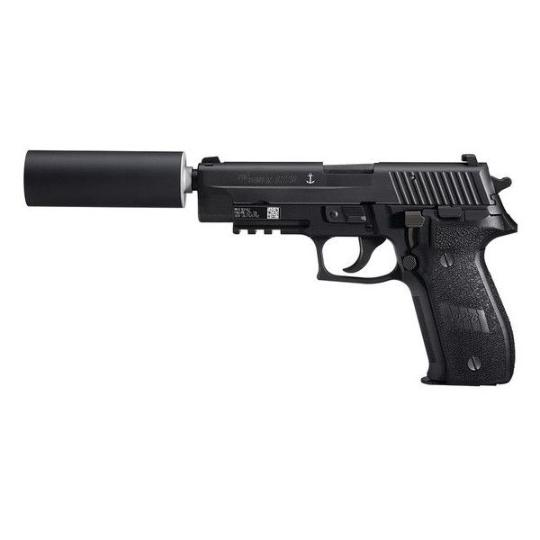 SIG-SD Silencer Line ❤ liked on Polyvore featuring weapons ...