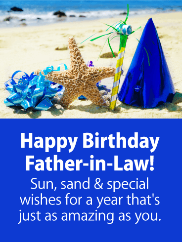 To An Amazing Father In Law