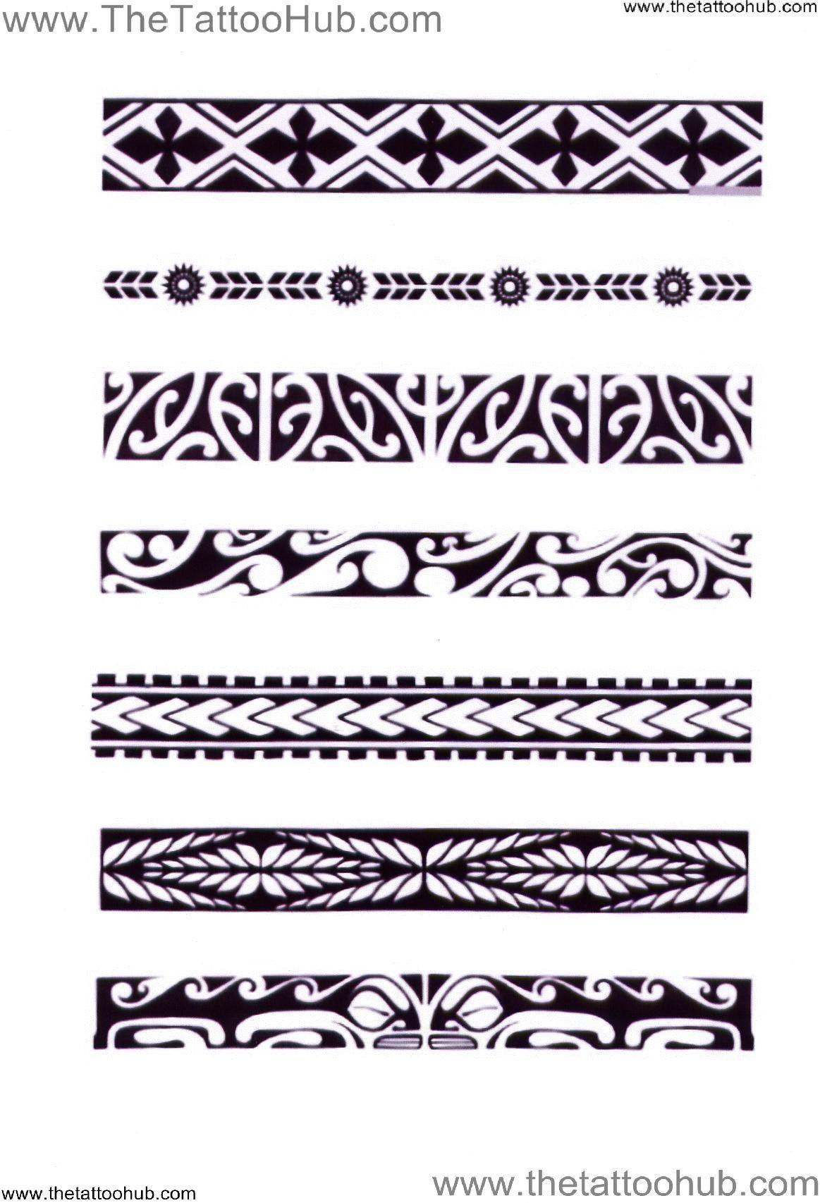 Tribal Hawaiian band tattoos meanings video