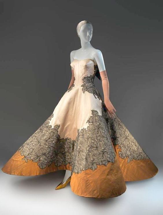 1953 Couture Ball Gown by Charles James Early Vintage | Clothing of ...