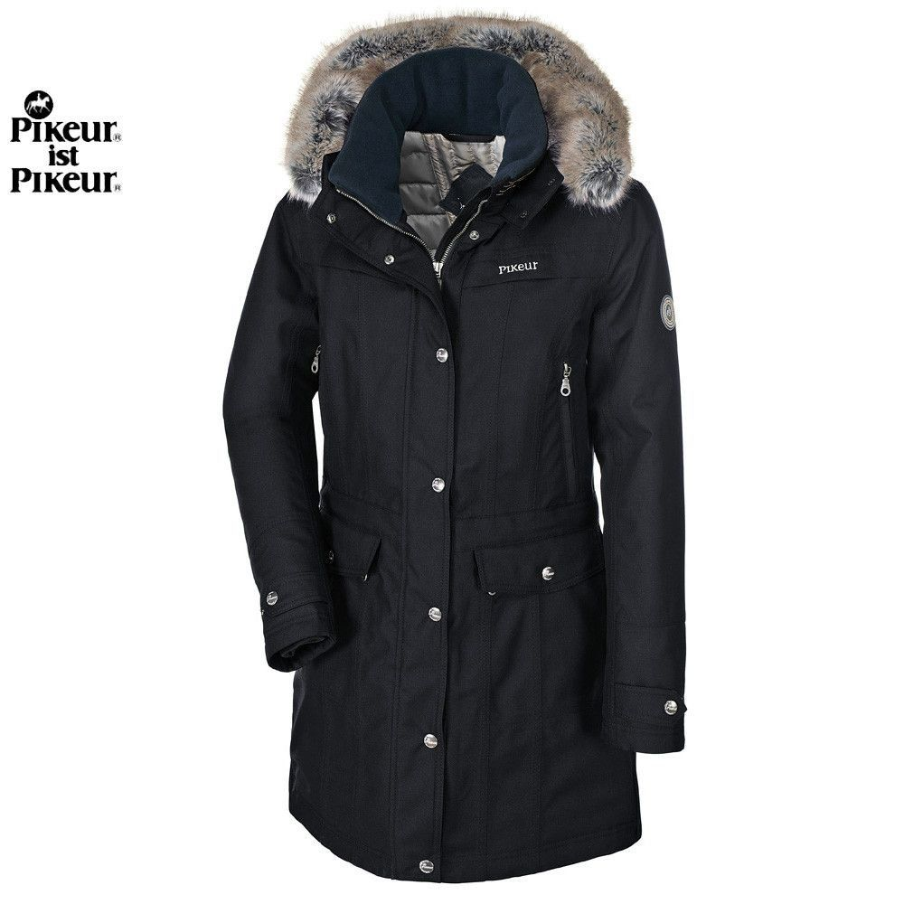 Pikeur Alana Ladies Parka Winter coat parka, Waterproof