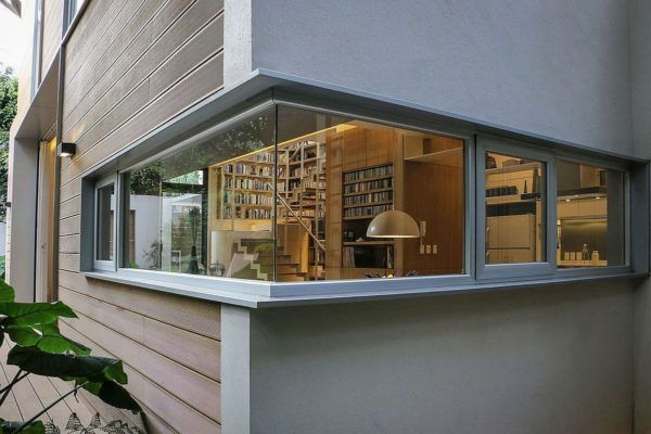 Nirau house outdoor living coupled with smart green design corner windowsbook loversdream