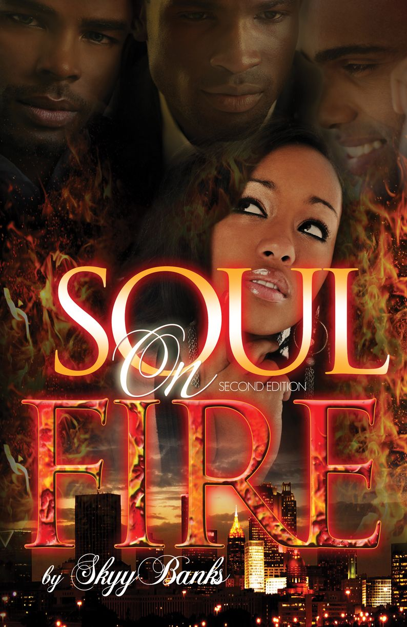 """Warning get the tissues out before you start this book and keep them well stocked as you read. ""   Soul on Fire by Skyy Banks"