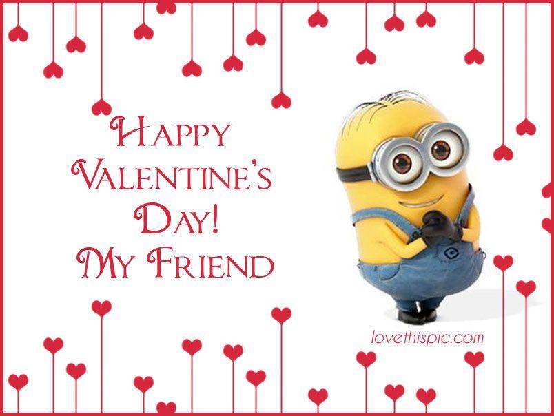Happy Valentine 39 S Day Cute Quote Friends Valentine 39 S Day