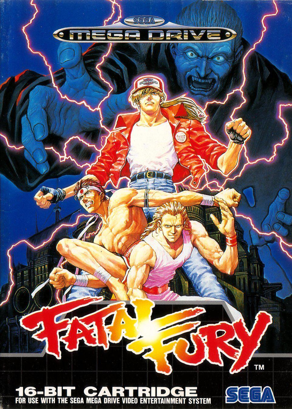 Fatal Fury Classic Video Games Retro Video Games Sega Games