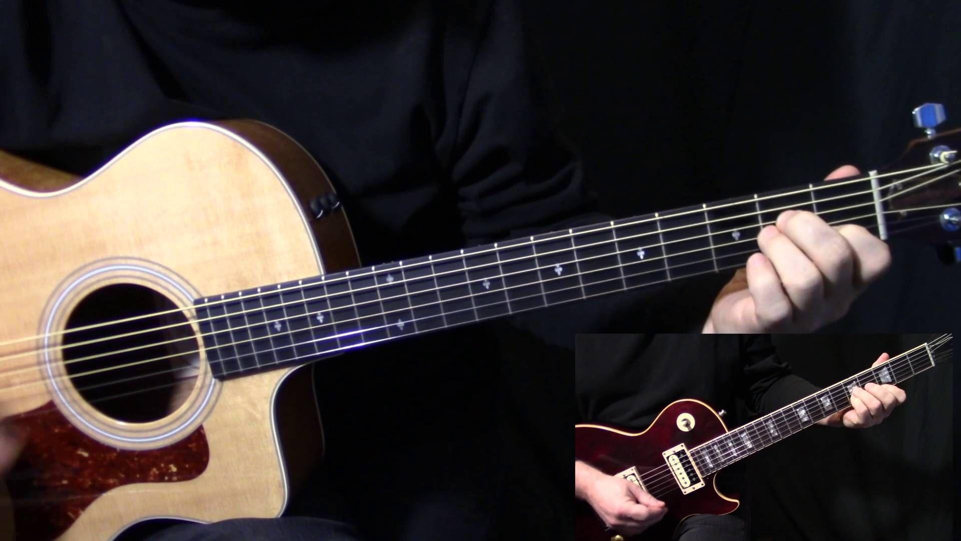 "Play ""lyin' Eyes"" Guitar Eagles Glenn"
