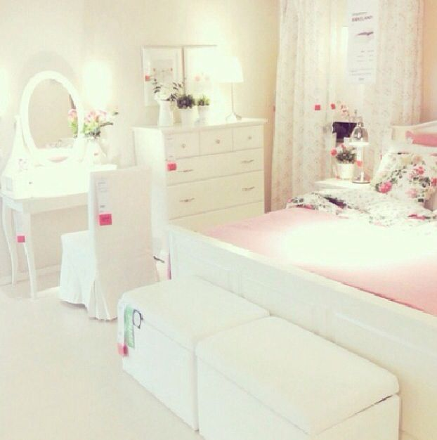 Ikea Bedroom Setup Perfect Base Design For Teen Girl