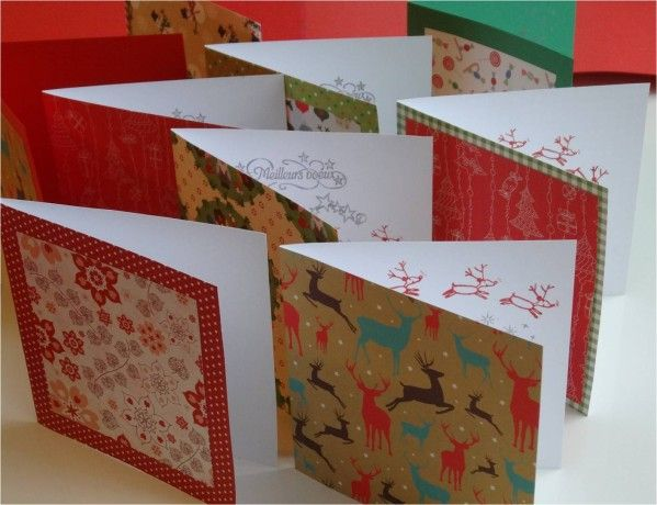 4 DIY faciles de cartes de voeux à faire par les enfants