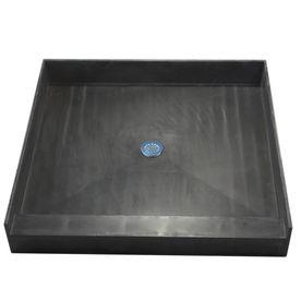 Tile Ready Made For Tile Fiberglass Plastic Composite Shower Base
