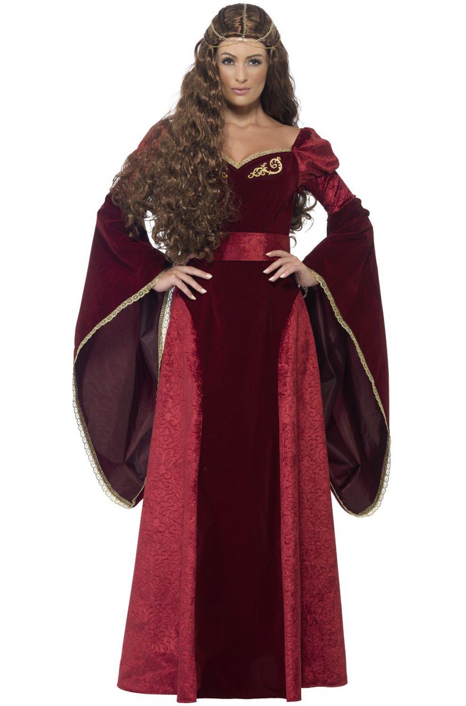 Medieval Queen Adult Costume Ladies fancy dress