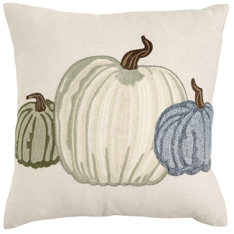 White Pumpkin Pillow | Pier 17 Imports $17.17 | Fall | Pinterest ...