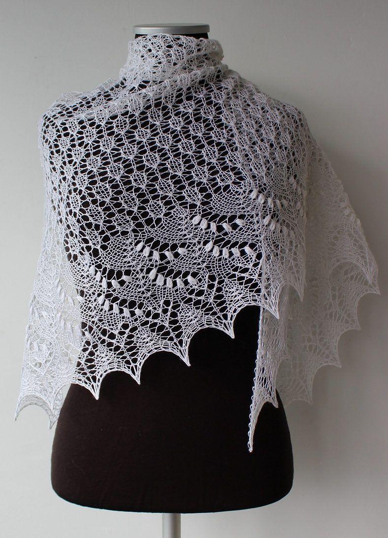 Lace Shawl and Wrap Knitting Patterns | Pinterest | Lace patterns ...