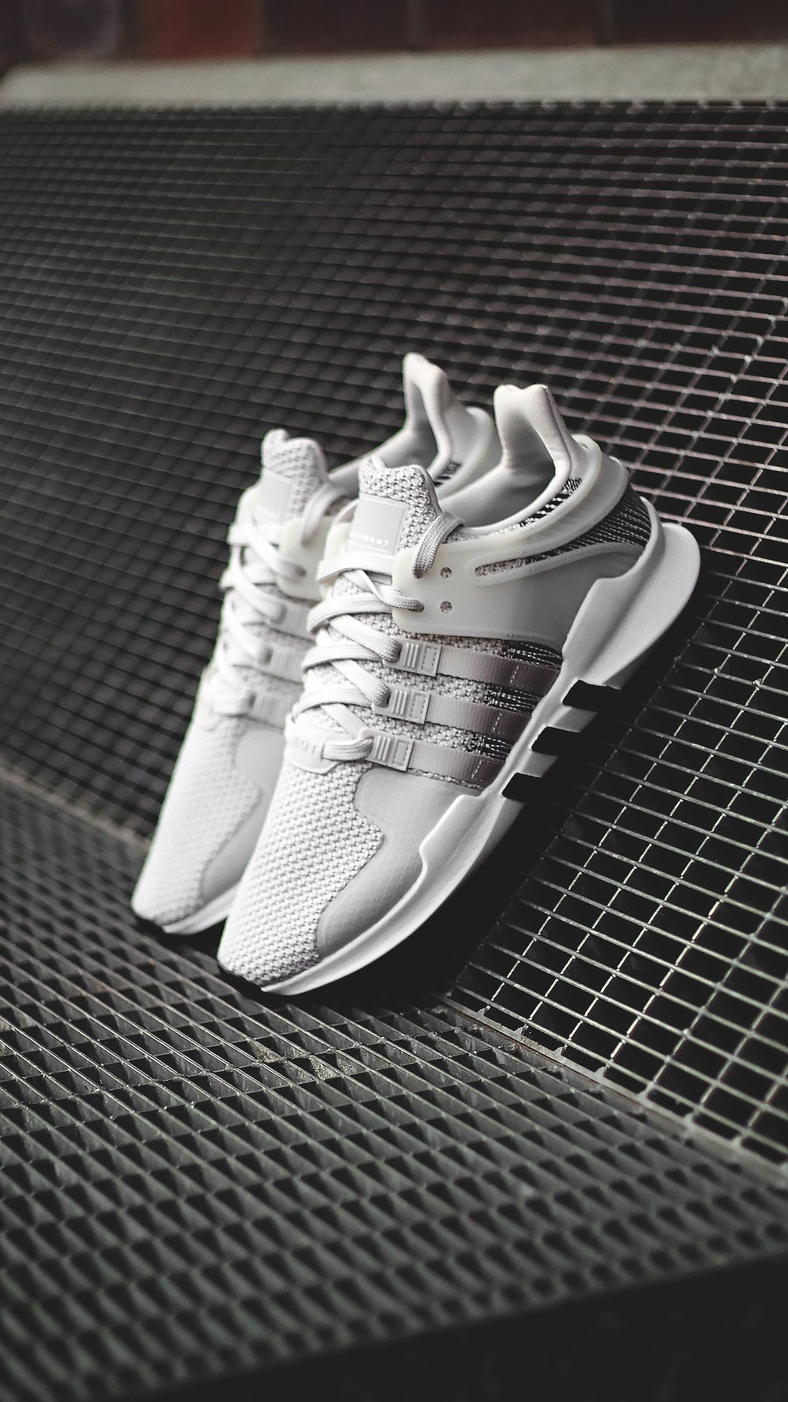 the latest f5b5f 764cb ADIDAS EQT SUPPORT ADV (white / white / grey one) SKU BY9582 ...