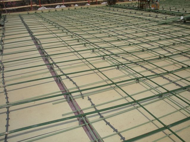 One-Way Post-Tensioned Concrete Slab | Unbonded Post
